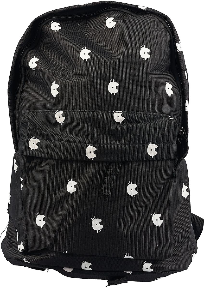 Рюкзак для девочки Sela, цвет: черный. BGp-645/142-8442 брюки для девочки sela цвет черный p 615 1069 8341 размер 152