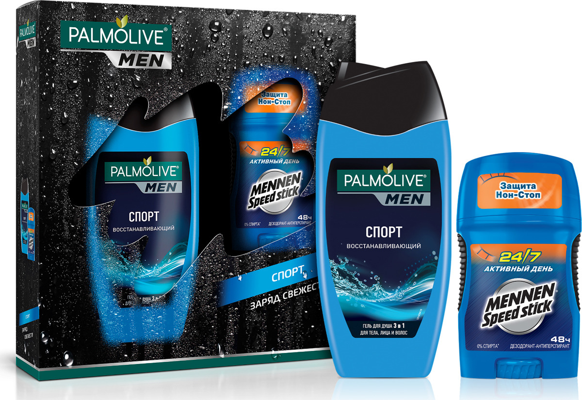 Подарочный набор для мужчин Palmolive Спорт подарочный набор palmolive спа удовольствие
