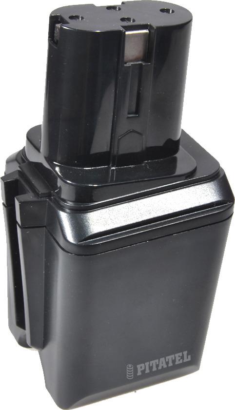 Аккумулятор для инструмента Bosch Pitatel TSB-051-BOS12B-30M, черный аккумулятор для инструмента pitatel для panasonic tsb 182 pan24 30m