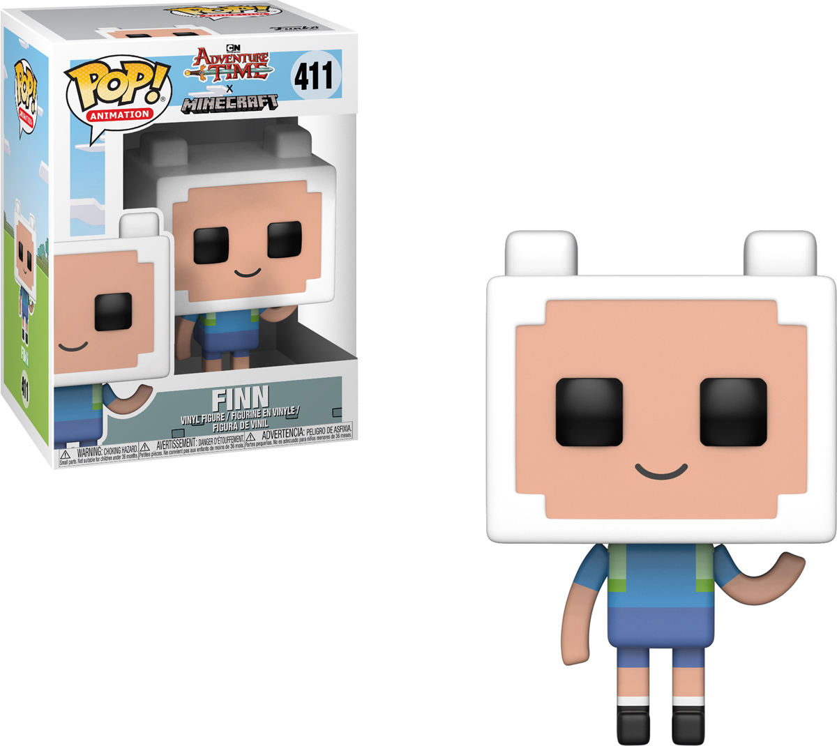 Фигурка Funko POP! Vinyl: Adventure Time/Minecraft S1: Finn 32235 фигурка funko pop vinyl yu gi oh s1 yami yugi 27448