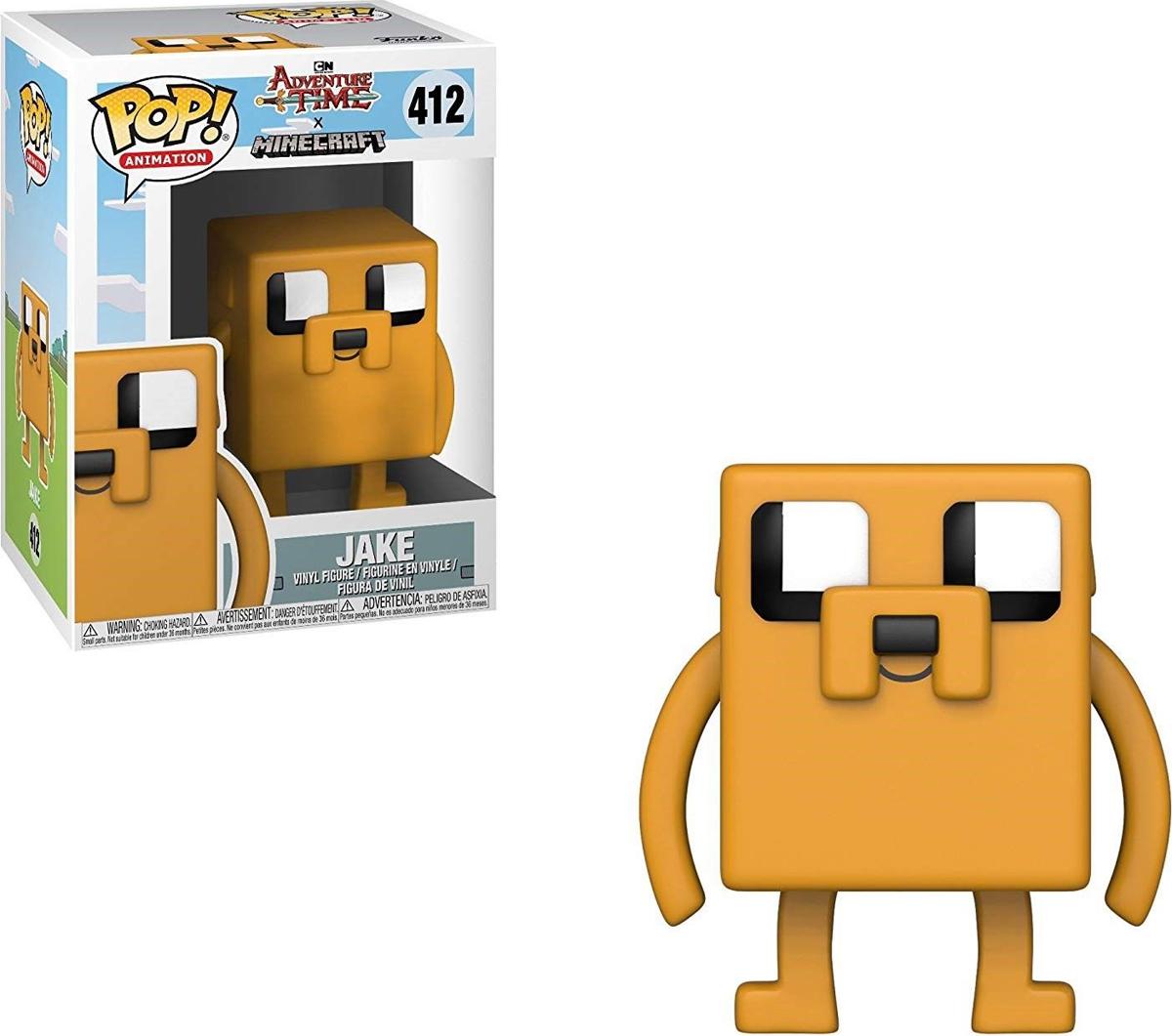 Фигурка Funko POP! Vinyl: Adventure Time/Minecraft S1: Jake 32238 фигурка funko pop vinyl yu gi oh s1 yami yugi 27448
