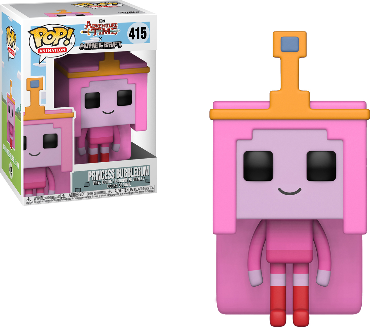 Фигурка Funko POP! Vinyl: Adventure Time/Minecraft S1: Princess Bubblegum 32253 bubblegum pop