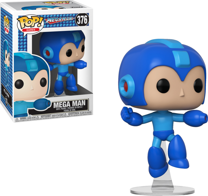 Фигурка Funko POP! Vinyl: Games: Megaman: Megaman (Jumping) 33637