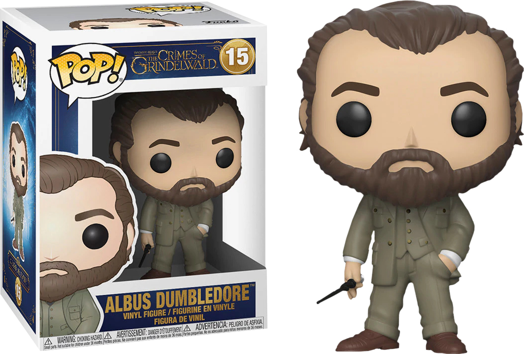 Фигурка Funko POP! Vinyl: Фантастические твари 2 (Fantastic Beasts 2): POP 2 Dumbledore 32750 calcell pop 80 2