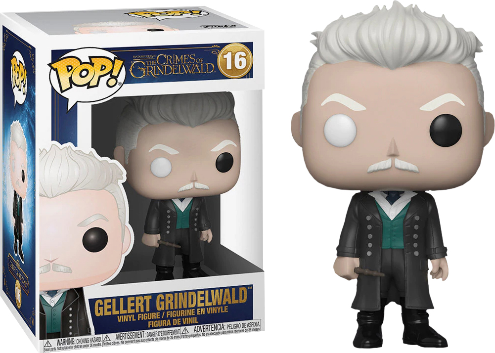 Фигурка Funko POP! Vinyl: Фантастические твари 2 (Fantastic Beasts 2): POP 3 Grindewald 32752 fantastic beasts