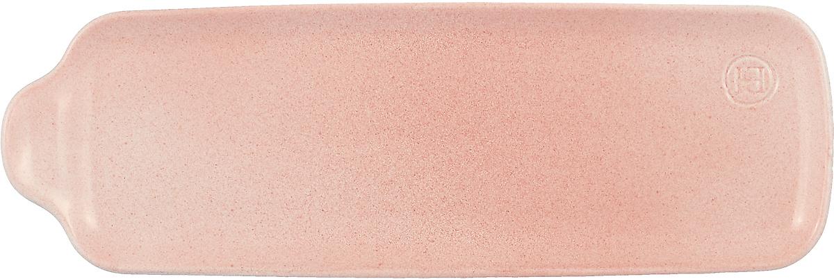 Блюдо Emile Henry Аперитив, среднее, цвет: розовый набор блюд emile henry аперитив прямоугольные цвет серый 3 шт