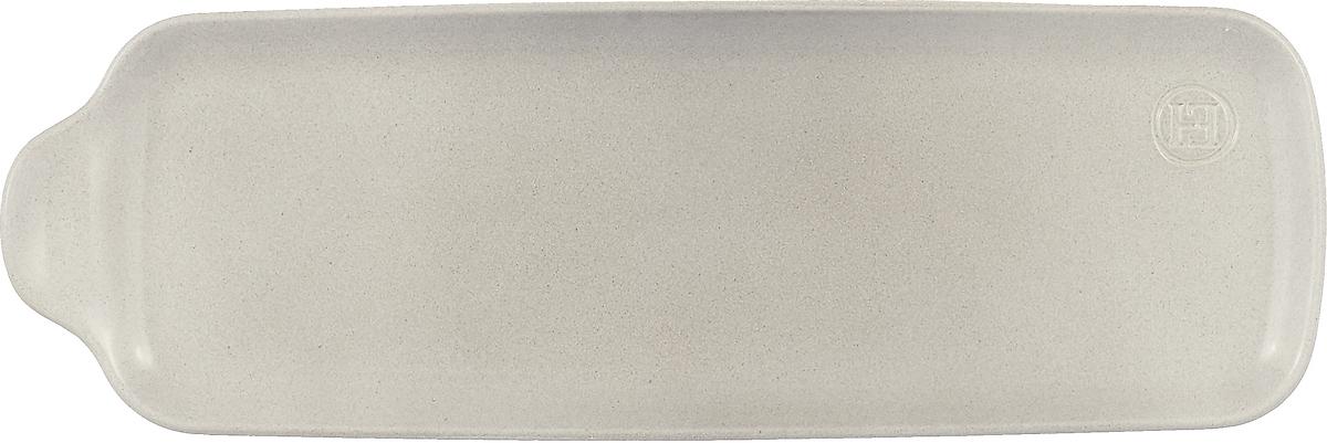 Блюдо Emile Henry Аперитив, среднее, цвет: серый набор блюд emile henry аперитив прямоугольные цвет серый 3 шт