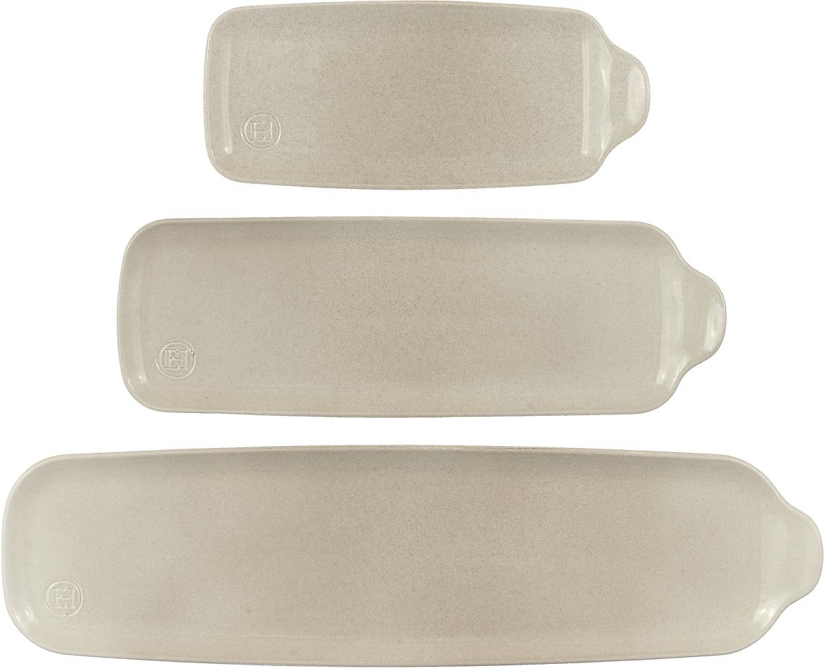 Блюдо для запекания Аперитив прямоугольные 3 шт, Керамика