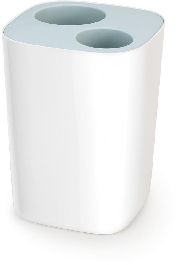 Контейнер для мусора Joseph Joseph Split, цвет: белый, 8 л. 70505