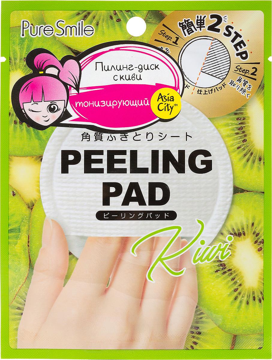 Фото - Пилинг-диск для лица Sunsmile Peeling Pad, с экстрактом киви, 1 шт пилинг диск для лица sunsmile peeling pad с экстрактом лимона 1 шт