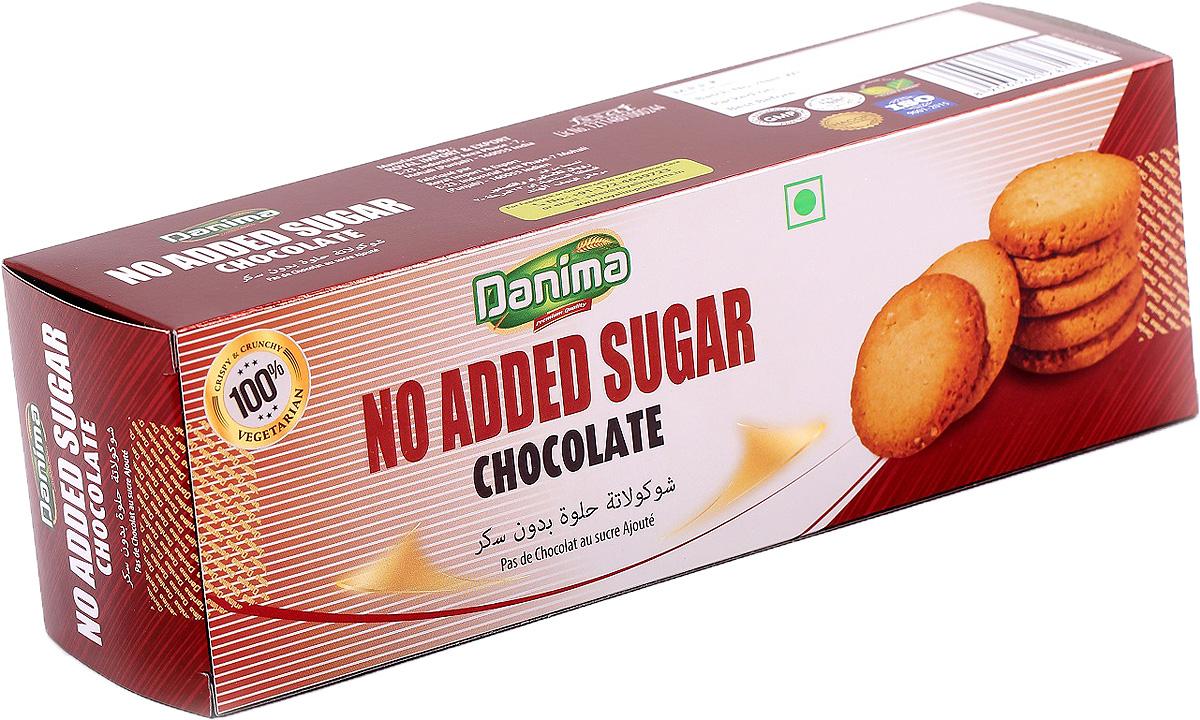Индийское печенье без сахара с шоколадом Danima, 150 г частная галерея финское печенье с клюквой и кусочками белого шоколада 150 г