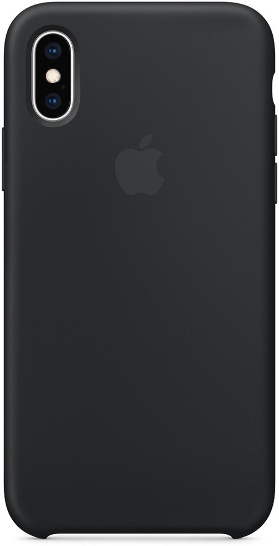 Чехол Apple Silicone Case для iPhone XS, Black