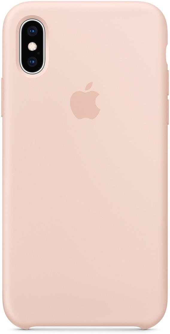 Чехол Apple Silicone Case для iPhone XS, Pink Sand чехол для apple iphone xs silicone case pink sand