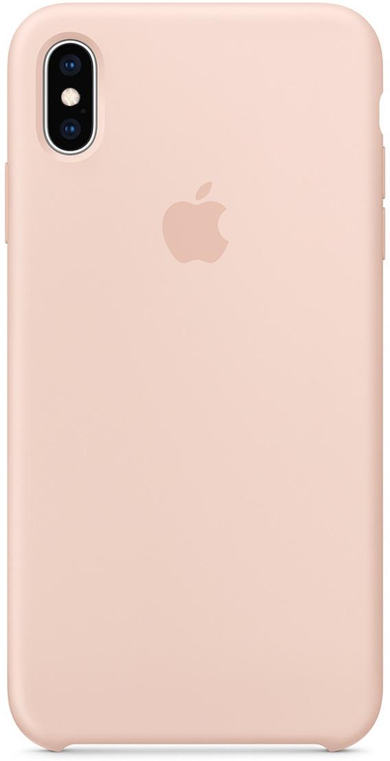 Чехол Apple Silicone Case для iPhone XS Max, Pink Sand чехол для apple iphone xs silicone case pink sand