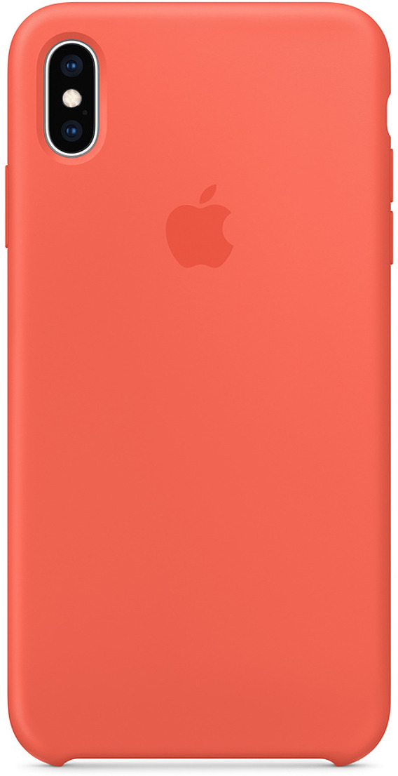 Чехол Apple Silicone Case для iPhone XS Max, Nectarine чехол для apple iphone xs max silicone case nectarine