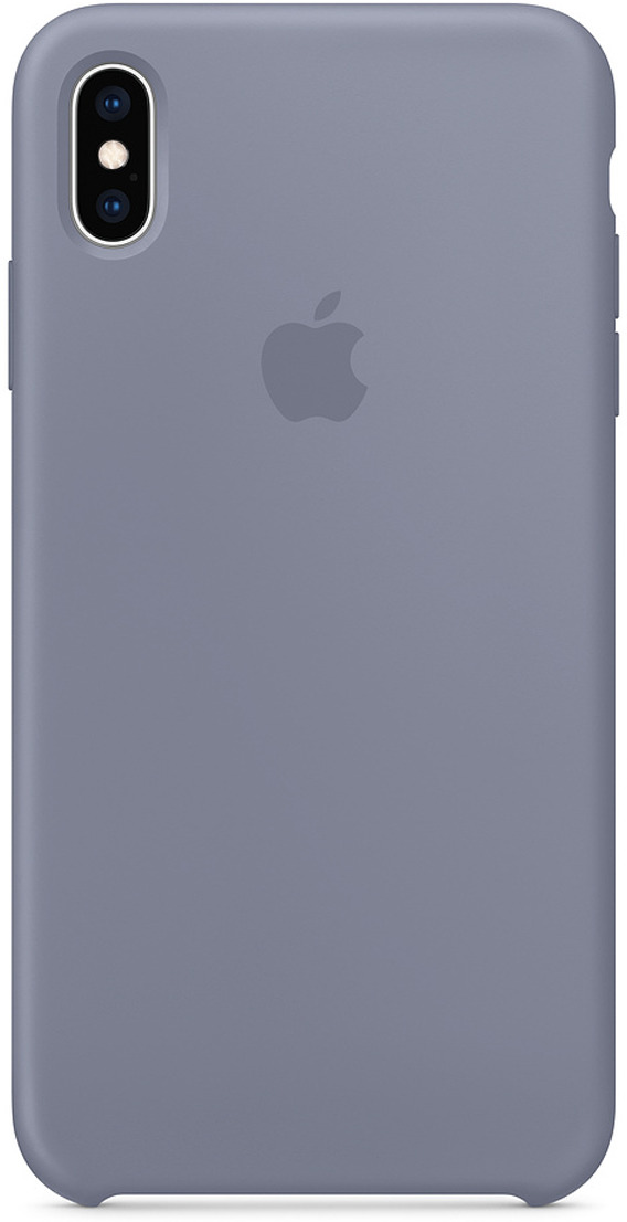 Чехол Apple Silicone Case для iPhone XS Max, Lavender Gray аксессуар чехол apple iphone xs max silicone case lavender gray mtfh2zm a