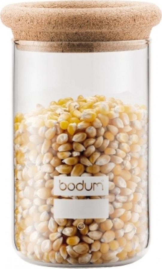 Банка для сыпучих продуктов Bodum Yohki, цвет: бежевый, 600 мл
