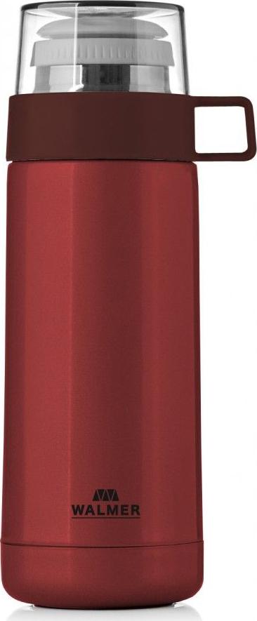 Термос Walmer Power, цвет: красный, 350 мл