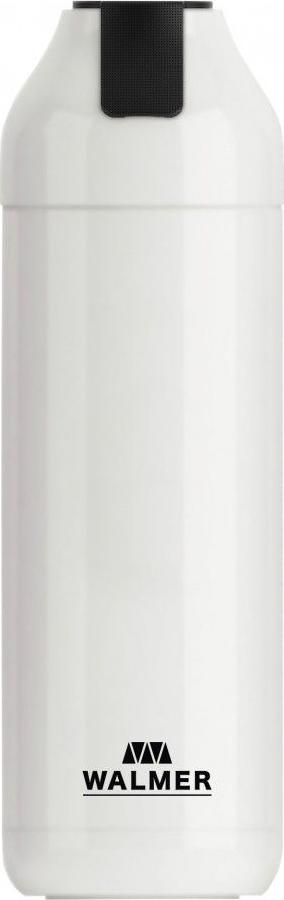 Термос Walmer Energy, с фильтром, цвет: белый, 400 мл