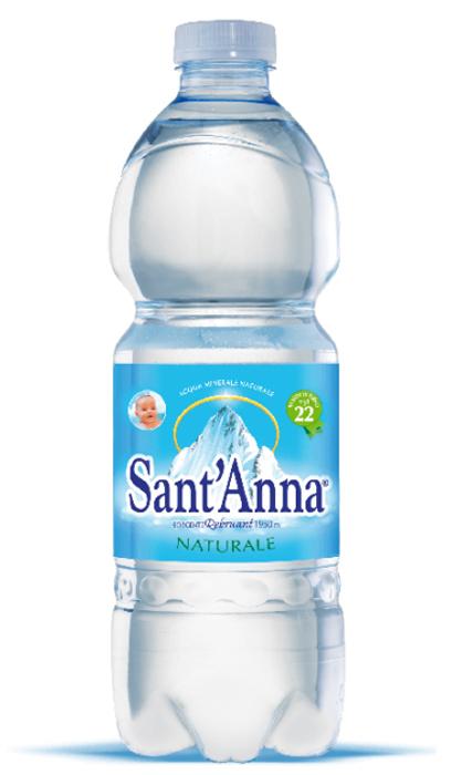 Вода минеральная природная питьевая столовая негазированная Sant'Anna Источник Ребруант, 0,5 л