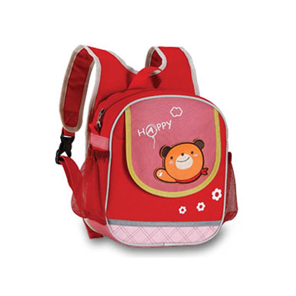 Рюкзак/ сумка на руль, цвет: красный, 24 х 20 х 8 см