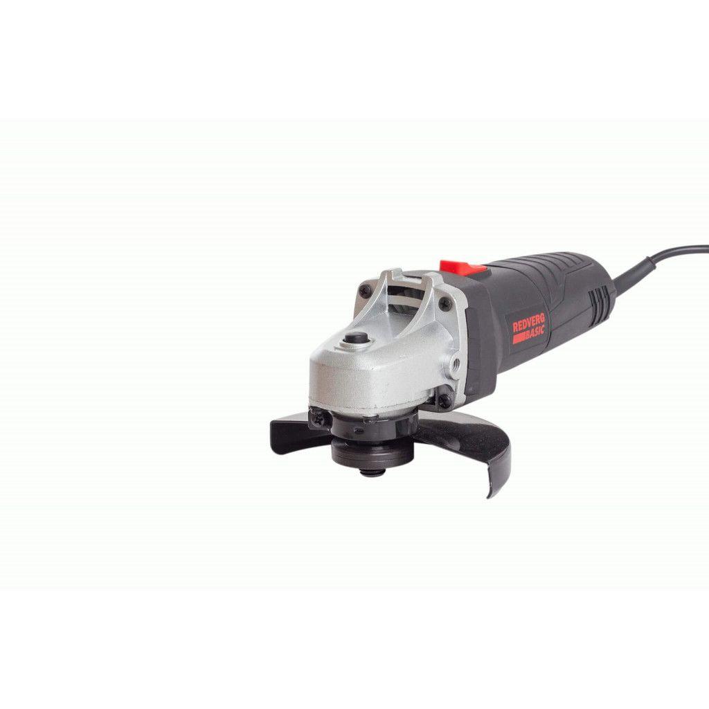 Машина шлифовальная угловая RedVerg Basic AG700-125 инструмент redverg отзывы