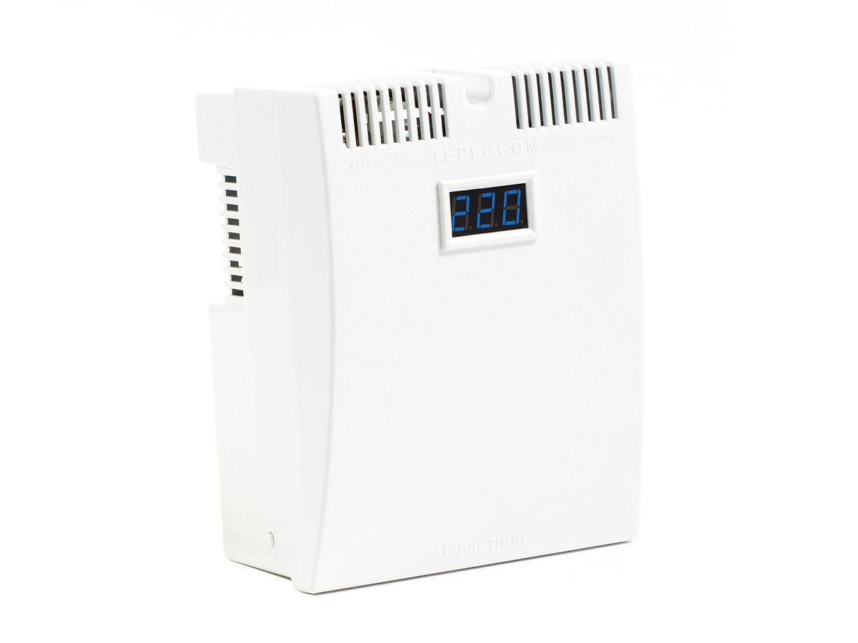 Стабилизатор напряжения TEPLOCOM ST-555-И, белый стабилизатор напряжения teplocom st 555