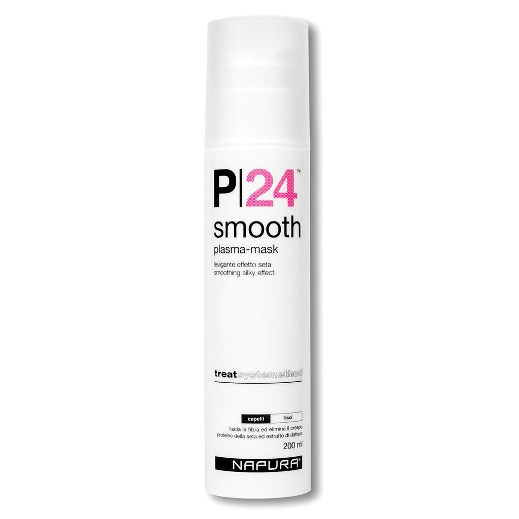 Маска для волос NAPURA Разглаживающая питательная маска интенсивного действия для волос. P24 SMOOTH dikson комплексная питательная сыворотка интенсивного действия 6 шт по 30 мл