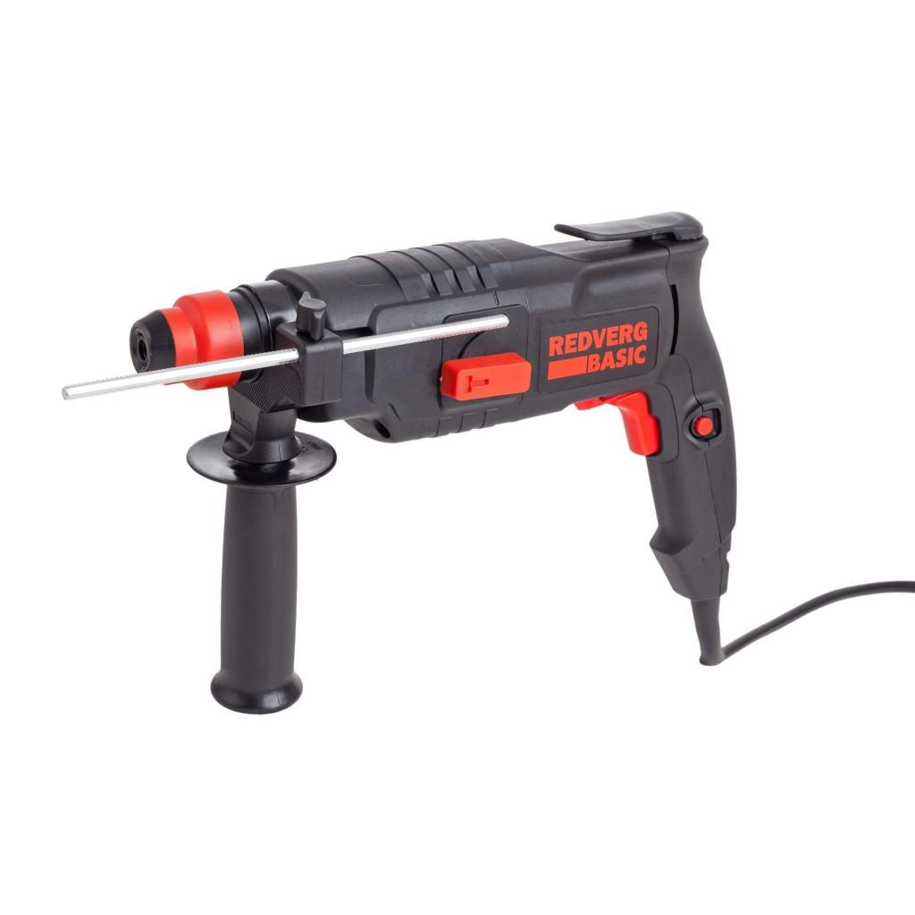 Перфоратор RedVerg Basic RH2-20, 600 Вт, 1000 об/мин, 3900 уд/мин, цвет:черный