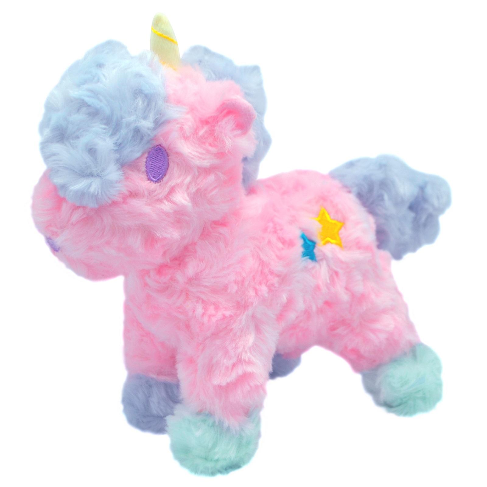 Мягкая игрушка АБВГДЕЙКА Единорог розовый