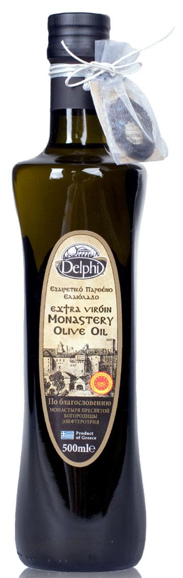 Delphi масло оливковое Extra Virgin монастырское, 500 мл just greece premium extra virgin оливковое масло 500 мл