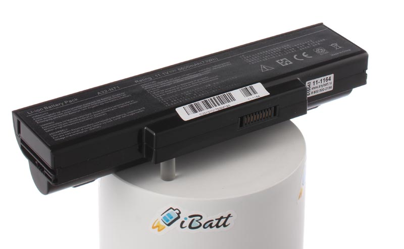 Аккумуляторная батарея AnyBatt 11-1164, 6600 мАч for asus k73t x73t k73ta k73tk r73t latop motherboard qbl70 la 7553p hd7670m 1gb mainboard 100