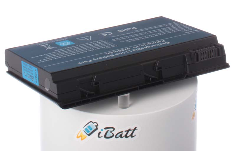 Аккумуляторная батарея iBatt, iB-A133H, 5200 мАч 4400mah battery for acer extensa 5210 5220 5235 5420g 5620g 5620z 5630 5630g 5635 5635g 5635z 7220 7620 7620g grape32 grape34