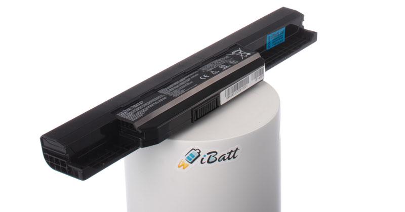 Фото - Аккумуляторная батарея iBatt iB-A199H для ноутбуков Asus, 5200 мАч аккумуляторная батарея topon top k53 4400мач для ноутбуков asus a43 a53 k43 k53 x43 x44 x53 x54