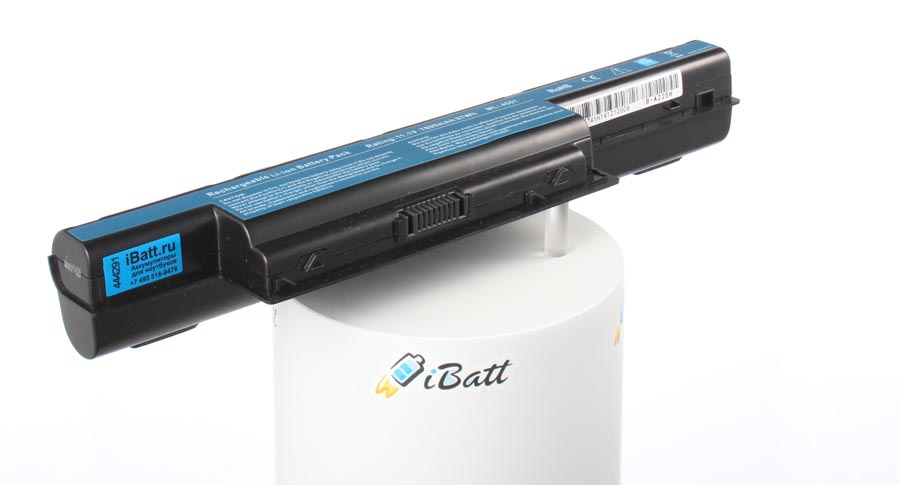 Аккумуляторная батарея iBatt iB-A225H для ноутбуков Acer, 7800 мАч цены онлайн