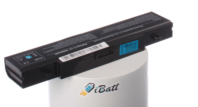 Аккумуляторная батарея iBatt iB-A387H для ноутбуков Samsung, 5200 мАч аккумулятор для ноутбука ibatt для samsung rc510 s03 rc720 s01 rv515 s01 rv515 s07 rv520 a01 270e5e x06 300v4a a04 300v5a s0w 305v5a a01 350v5c s1f 550p5c s01 r425 js02 r528 da01 r730 jb02 rc510 s05 rf510 s02