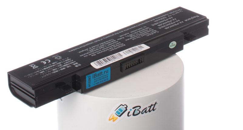 Аккумуляторная батарея iBatt iB-A389H для ноутбуков Samsung, 5200 мАч аккумуляторная батарея topon top x11 4800мач для ноутбуков samsung r18 r20 r25 np x1 nt x1 np x11