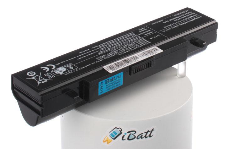 Аккумуляторная батарея iBatt iB-A395H для ноутбуков Samsung, 7800 мАч аккумулятор для ноутбука anybatt для samsung 305v5a t08 350e7c a02 r528 ds01 300v5a s0u np r620 r525 js02ru r425 jt01 r428 da02 300e5a s09 ativ book 2 270e5e r429 300e5a a04 300e5c a03 355v5c s0n 300e5c u03 350v4c