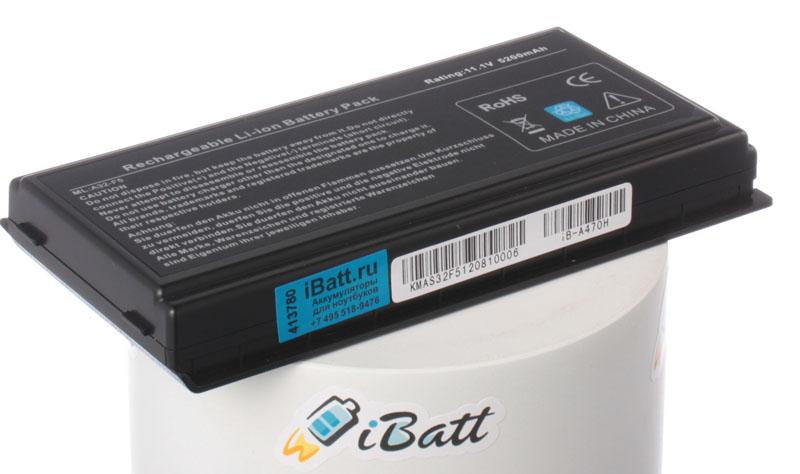 Аккумуляторная батарея iBatt iB-A470H 5200 мАч. Совместима с Asus A32-F5, 70-NLF1B2000Y, 70-NLF1B2000Z, A32-X50, 90-NLF1B2000Y, CL1125B.806, BATAS2000, 90-NLF1B2000Z battery for asus f5rl f5ri f5sl f5sr f5v f5 x50gl x50rl x50v x59sl x59sr a32 f5