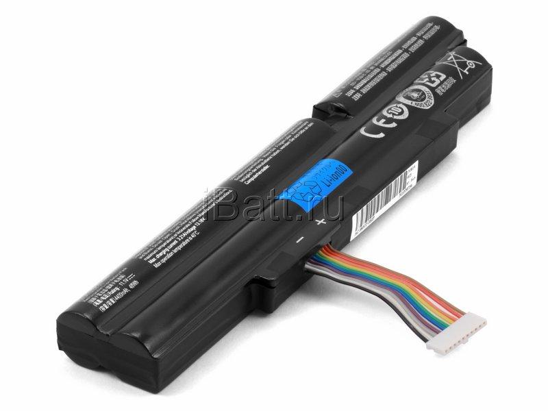 Аккумуляторная батарея iBatt iB-A488H 5200 мАч. Совместима с Acer AS11A5E, AS11A3E, CS-AC3830NB, 3INR18/65-2, 3ICR19/66-2 цена в Москве и Питере