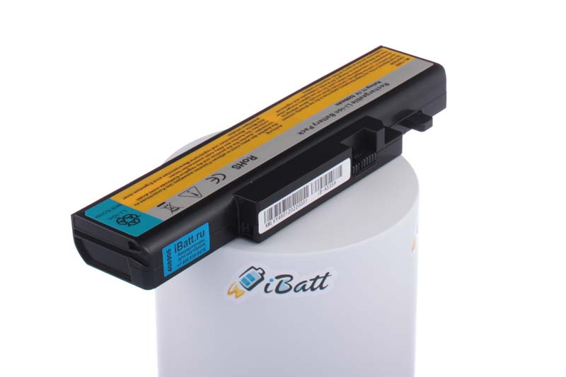 Аккумуляторная батарея iBatt iB-A535H 5200 мАч. Совместима с IBM-Lenovo L10S6Y01, L10L6Y01, L09L6D16, L10N6Y01, L09S6D16, L09N6D16, L10S6Y02, L10C6F01, 57Y6440, CL7501B.806, L08S6DB, 57Y6567, 57Y6626, CL7616B.806 6 cell 11 1v 5200mah новый замена аккумулятор для ноутбука lenovo ideapad y460 ideapad y560