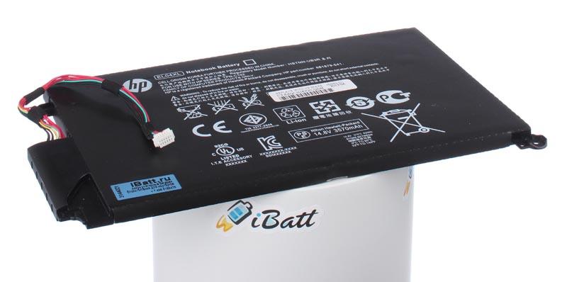 Аккумуляторная батарея iBatt iB-A615 3400 мАч. Совместима с HP-Compaq EL04XL, HSTNN-IB3R, 681879-1C1, 681949-001, 681879-121, 681879-541, HSTNN-UB3R, CS-HPY410NB, 681879-171