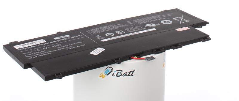 Аккумуляторная батарея iBatt iB-A624 6000 мАч. Совместима с Samsung AA-PBYN4AB, AA-PLWN4AB, BA43-00336A, CS-SNP530NB