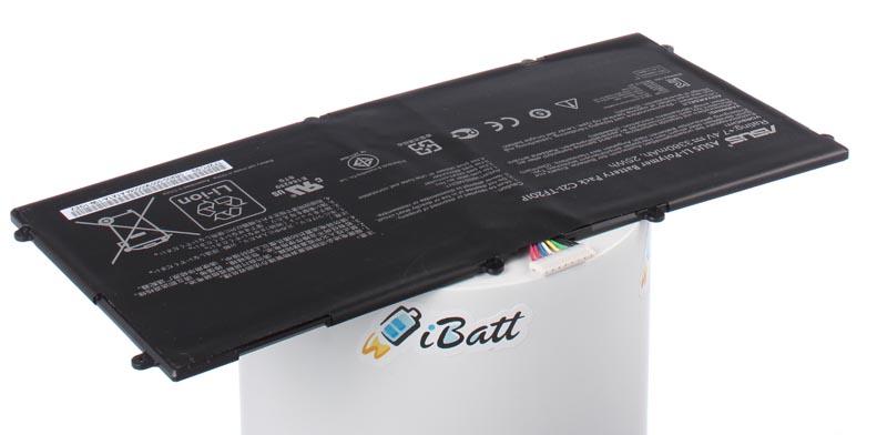 Аккумуляторная батарея iBatt iB-A658 3380 мАч. Совместима с Asus C21-TF201P, CS-AUF201SL аккумуляторная батарея ibatt ib a669 6800 мач совместима с asus c22 ux31 cs aux31nb