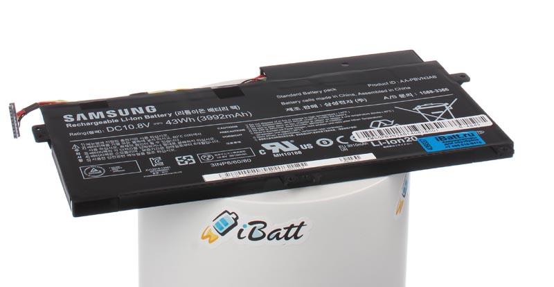 Аккумуляторная батарея iBatt iB-A849 3950 мАч. Совместима с Samsung AA-PBVN3AB, BA43-00358A, CS-SNP470NB. цена