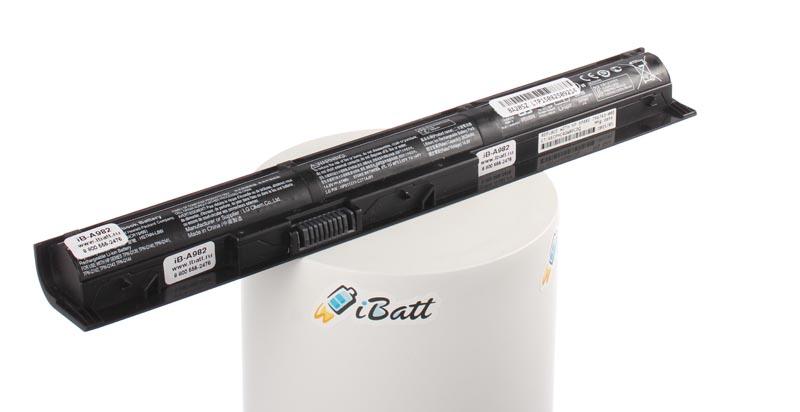 Аккумуляторная батарея iBatt iB-A982 2200 мАч. Совместима с HP-Compaq VI04, 756743-001, HSTNN-LB6I, TPN-Q140, TPN-Q144, VI04XL, HSTNN-DB6I, TPN-Q139, TPN-Q143, 756746-001, TPN-Q141, HSTNN-LB6K, G6E88AA, J6U78AA. недорого