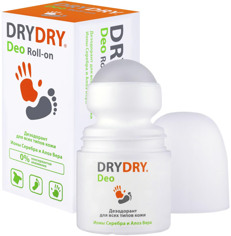 Дезодорант Dry Dry Deo Roll-on / Драй Драй Део Ролл-он, 50 мл. – дезодорант для всех типов кожи, 95 l angelica дезодорант шар с экстрактом алоэ и василька 50 мл