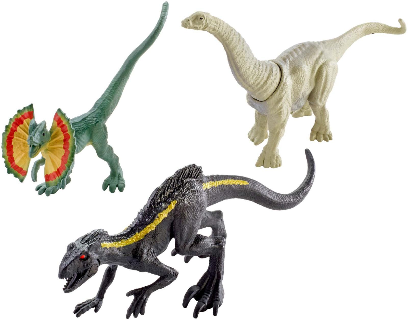 Jurassic World Фигурка Мини-динозавры 3 шт FPN72_FPN83