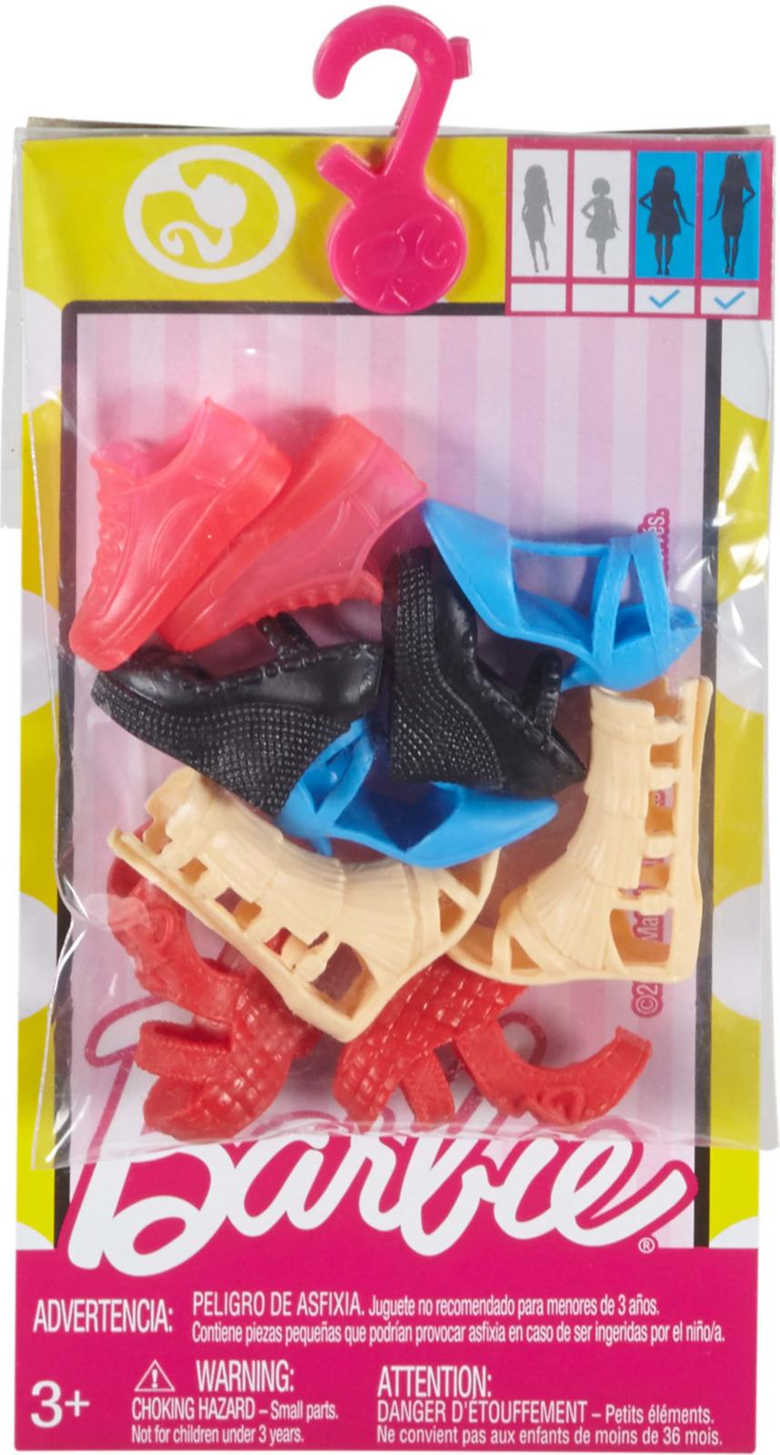 Аксессуар для кукол Barbie Набор обуви. FCR91_FCR93