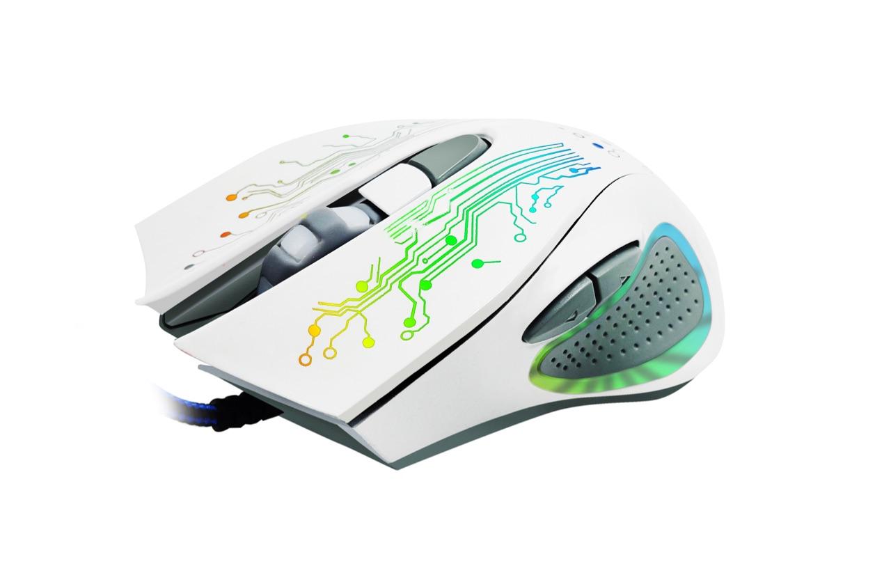 Игровая мышь IMICE X9 оптическая USB - Белая мышь imice x9 w white